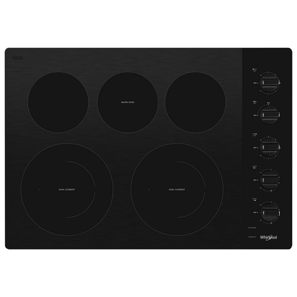 Whirlpool 30 In. Radiant Electric Ceramic Glass Cooktop In