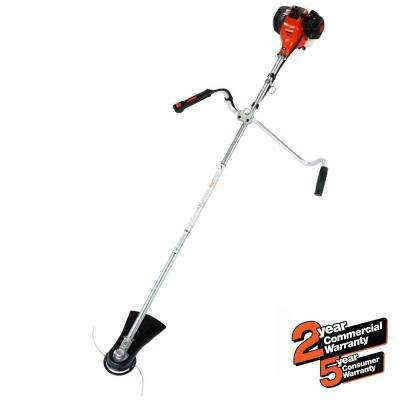 28.1cc Gas 2-Stroke Cycle Straight Shaft Brushcutter