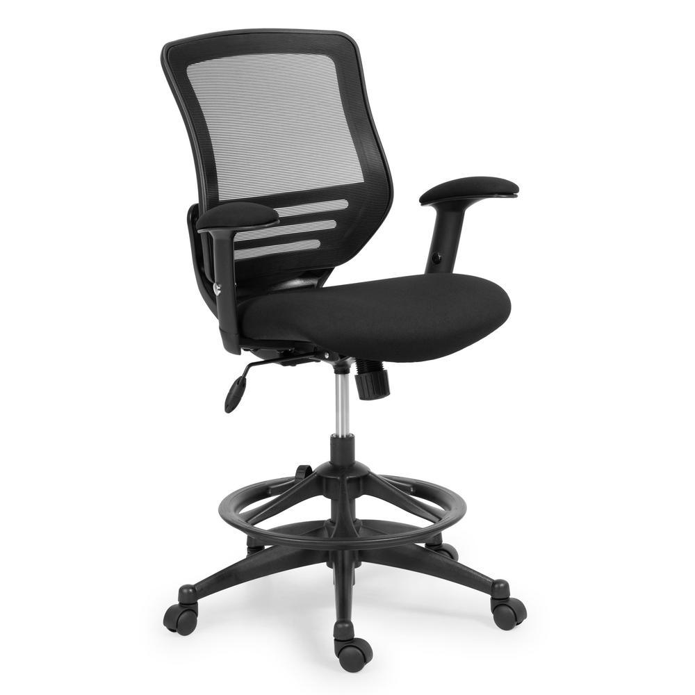 EDGEMOD Ventura Drafting Chair, Black was $268.53 now $161.11 (40.0% off)