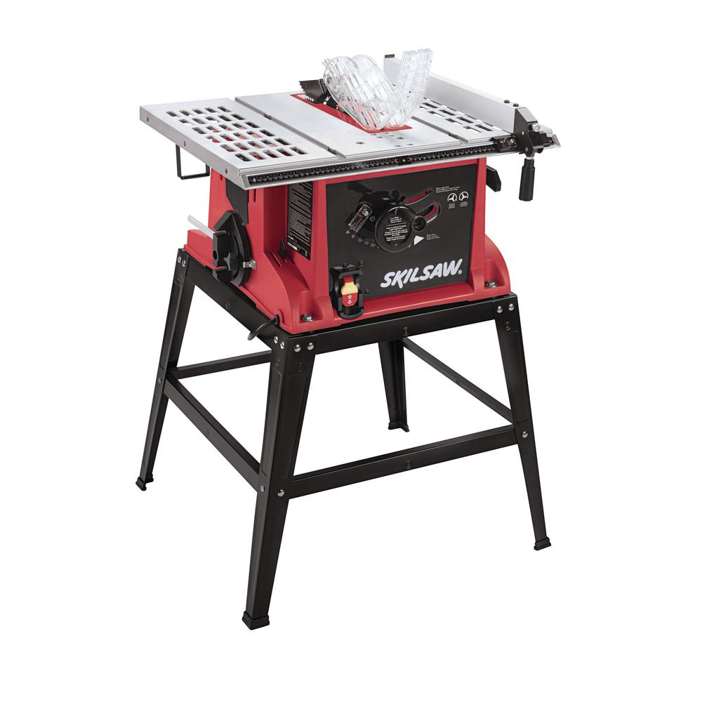 Skil 10 In 15 Amp Tablesaw With Fixed Stand 3310 02 The