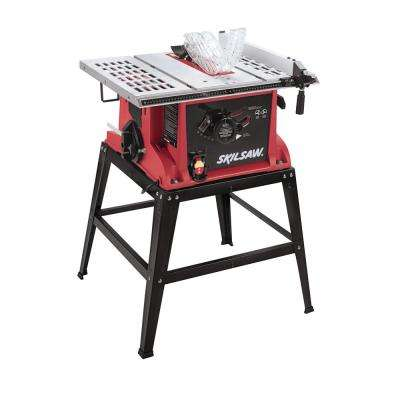10 in. 15 Amp Tablesaw with Fixed Stand