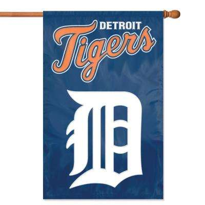 Detroit Tigers Applique Banner Flag