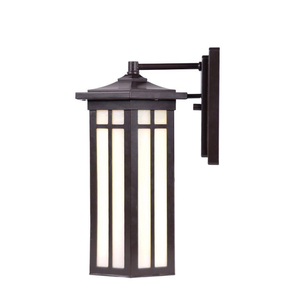 Antique Bronze Outdoor LED Medium Wall Light