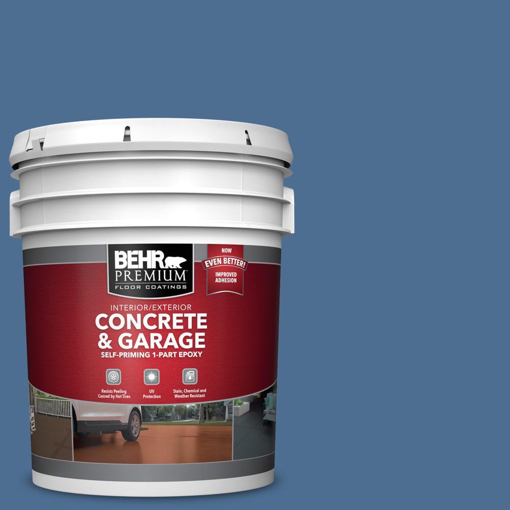 5 gal. #PFC-59 Porch Song 1-Part Epoxy Satin Interior/Exterior Concrete and Garage Floor Paint