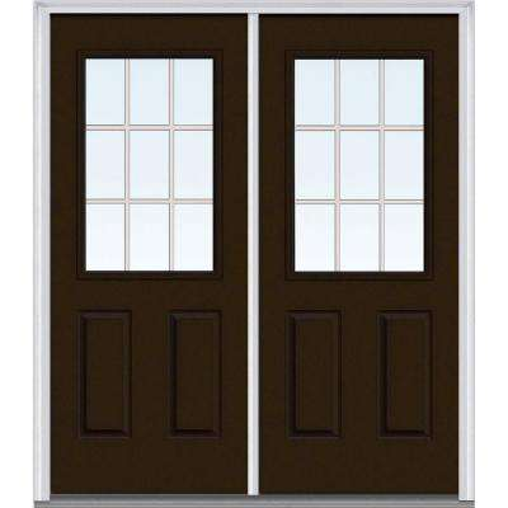 wooden front doors with glass. 72  x 80 Front Doors Exterior The Home Depot