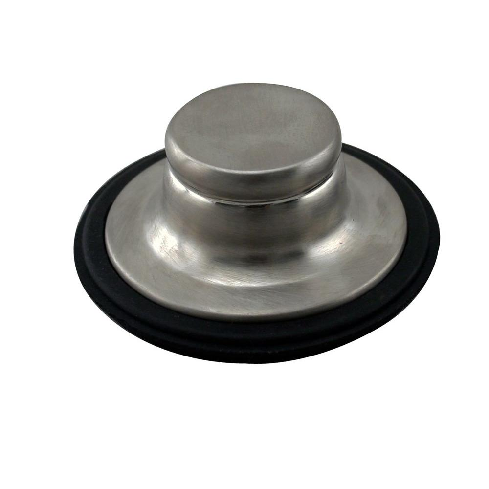 Westbrass Disposal Stopper in Stainless Steel