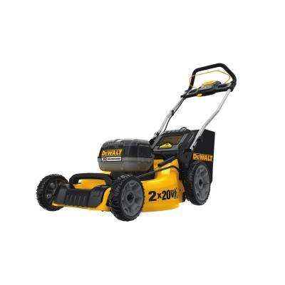 20 in. 20-Volt MAX Lithium-Ion Cordless Battery Walk Behind Push Lawn Mower with (2) 9 Ah Batteries and Charger