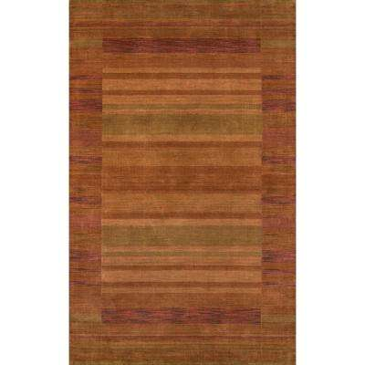 Red Rock Rust 8 ft. x 11 ft. Indoor Area Rug