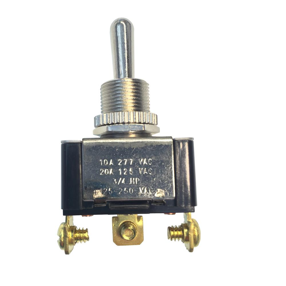Gardner Bender 20 Amp 125-Volt AC SPDT Toggle Switch (Case of 5)