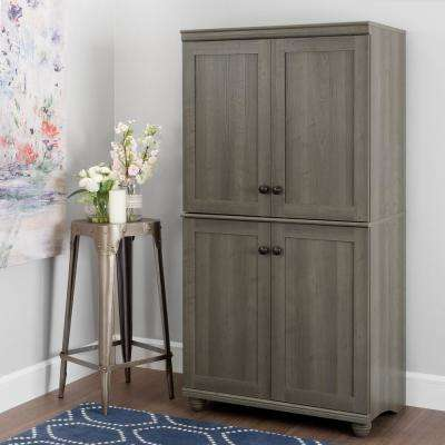 Hopedale Gray Maple Armoire
