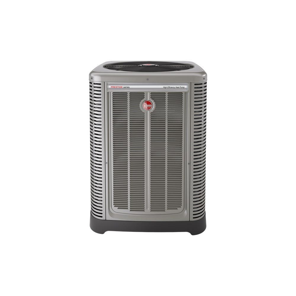 Installed Prestige Series Heat Pump