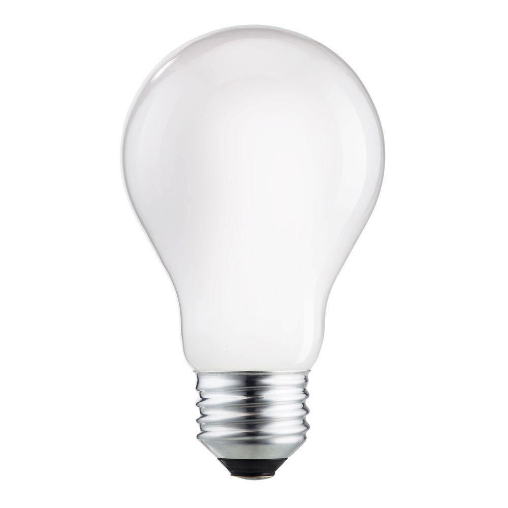 Philips 75 Watt Equivalent Halogen A19 Long Life Light Bulb 4 Pack 458018 The Home Depot