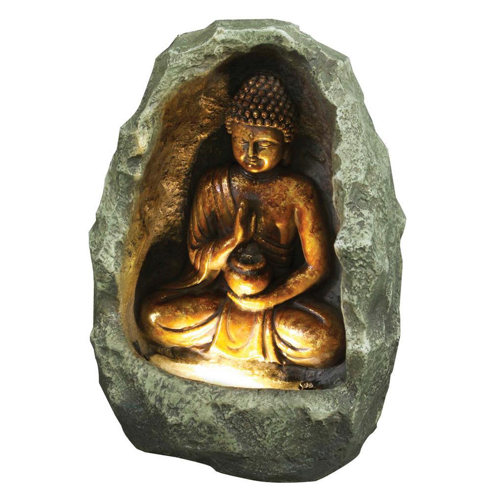Golden Buddha Fountain