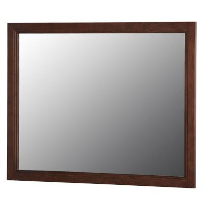 Brinkhill 32 in. W x 26 in. H Wall Mirror in Cognac