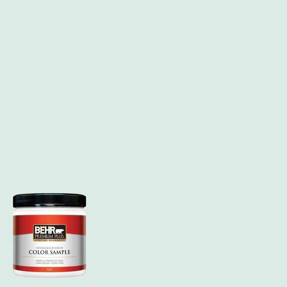 BEHR Premium Plus 8 oz. #M420-1 Sparkling Brook Interior/Exterior Paint Sample