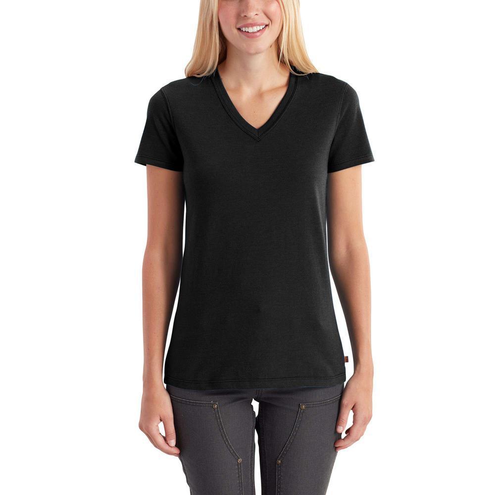 black v neck t shirt full sleeve
