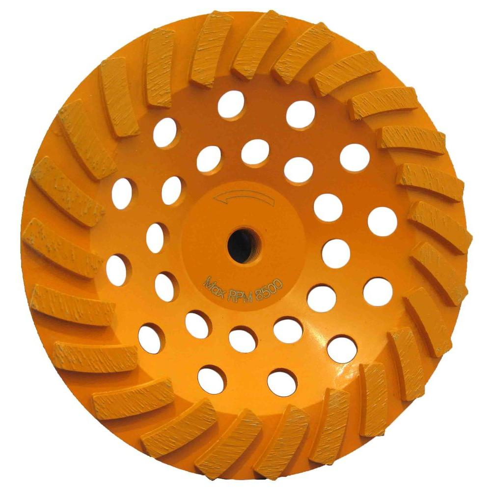 7 in. 24-Segment Turbo Cup Grinding Wheel