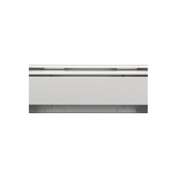Fine/Line 30 Decor Series 4 ft. Hydronic Baseboard Enclosure Only in Brite White