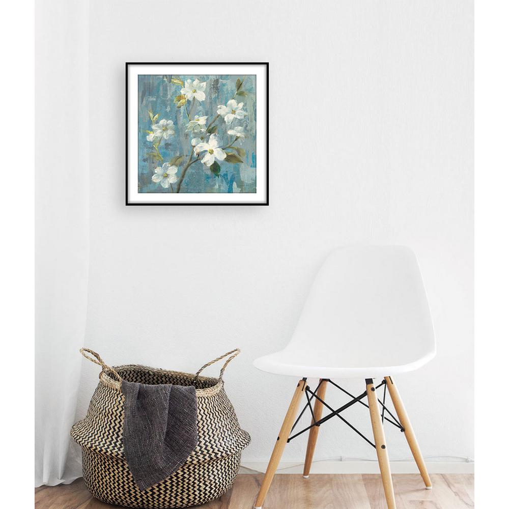 13 75 in x 13 75 in graceful magnolia i framed wall art
