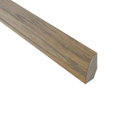 Burnished Straw / Tea 3/4 in. Thick x 3/4 in. Wide x 78 in. Length Hardwood Quarter Round Molding