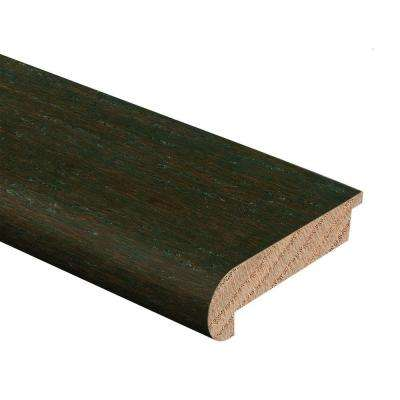 HS Strand Woven Bamboo Warm Espresso 1/2 in. Thick x 2-3/4 in. Wide x 94 in. Length Hardwood Stair Nose Molding