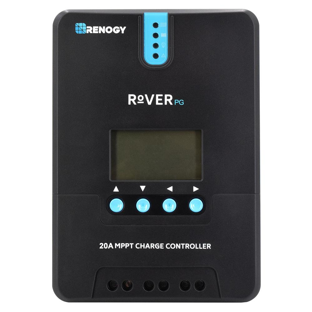 Renogy Adventurer 30 Amp Pwm Flush Mount Charge Controller With Lcd Mppt Solar Circuit Diagram Simple Rover Pg 20