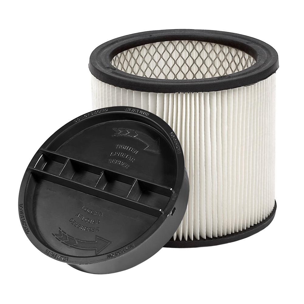 HEPA Filter for VC12 Wet/Dry Vac Used with Giraffe GE-5 Drywall