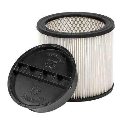 HEPA Filter for VC12 Wet/Dry Vac Used with Giraffe GE-5 Drywall Sander