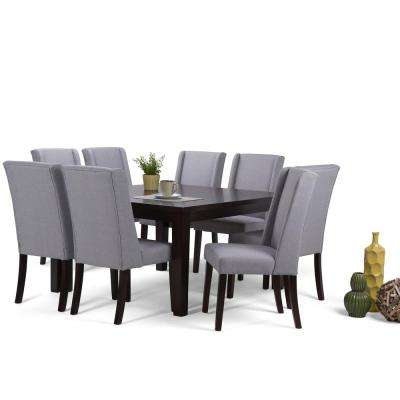 Sotheby 9 Piece Dove Grey Dining Set