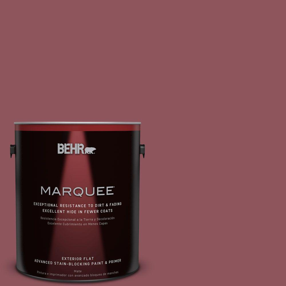 BEHR MARQUEE 1-gal. #PMD-33 Fragrant Cherry Flat Exterior Paint