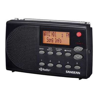 AM/FM HD Stereo Portable Pocket Radio