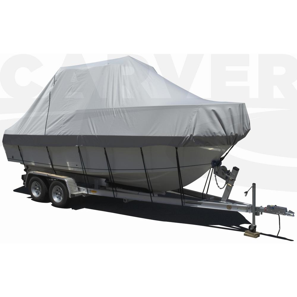 Centerline: 28 ft. 6 in. Styled-To-Fit Cover for Walk Around Cuddy