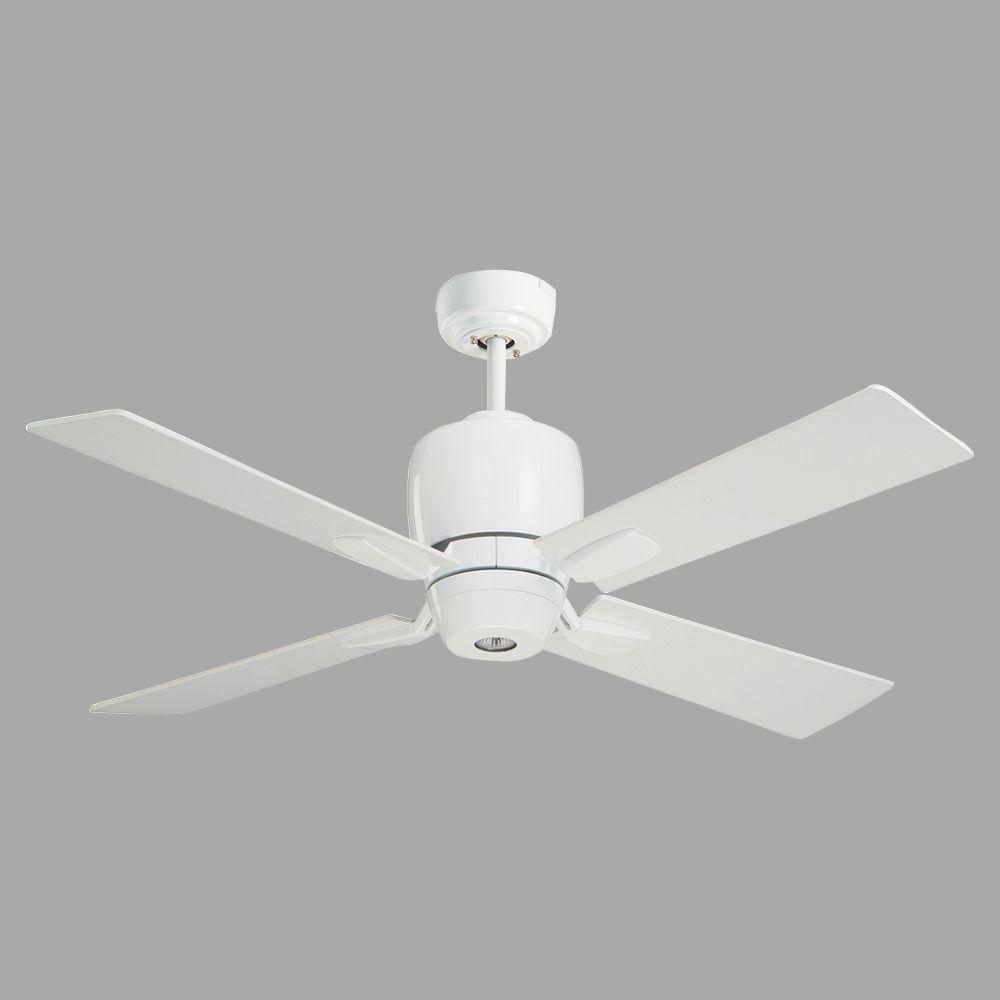 Illumine Zephyr 46 in. Appliance White Indoor Ceiling Fan