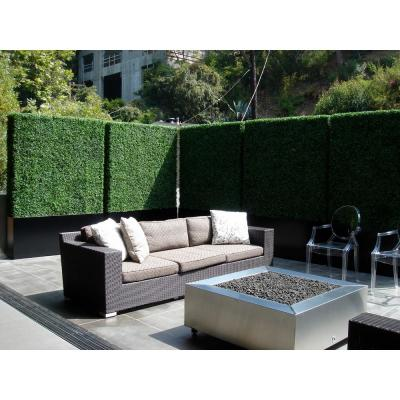 GorgeousHome Artificial Boxwood Hedge Greenery Panels Milan 20 in. x 20 in. (6-Piece)