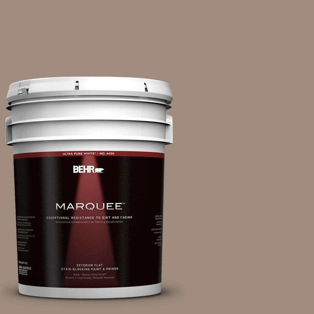 5-gal. #UL140-6 Antique Leather Flat Exterior Paint
