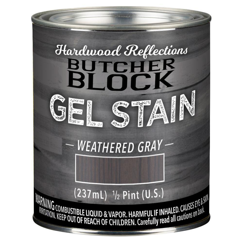 General Finishes 1 Gal. Black Oil-Based Interior Wood Gel Stain-GF.BLG