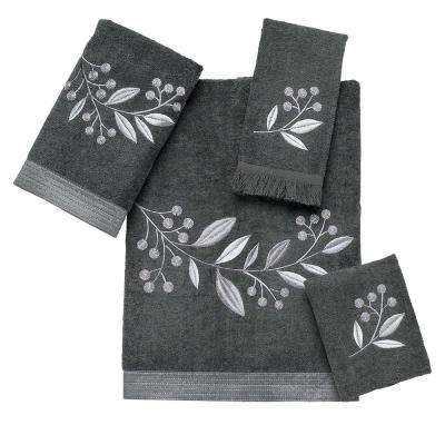 Madison 4-Piece Bath Towel Set in Granite
