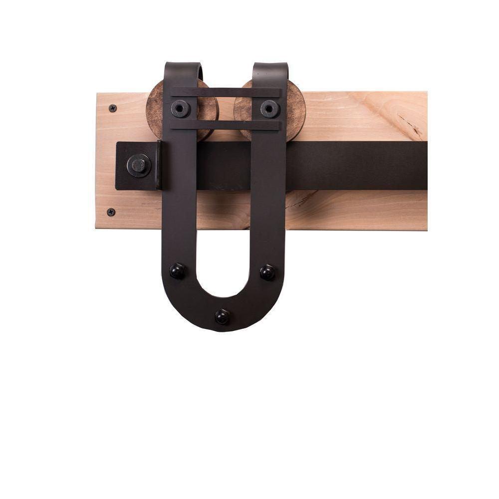 ... Door Knobs Arrow Door Knobs Photographs : Delaney Bronze Barn Door  Hardware Kit BD1089 ...