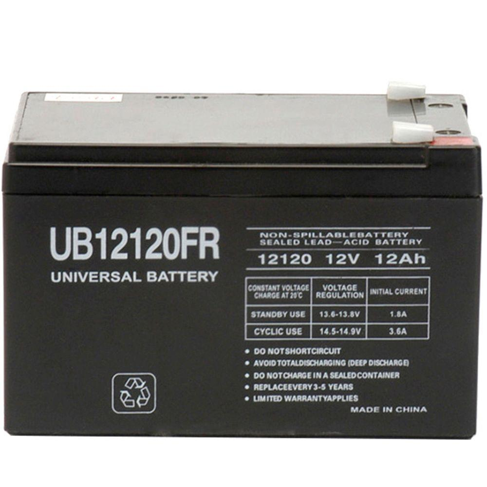 SLA 12-Volt F2 Terminal Battery