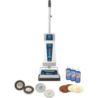 Upright Vacuum Cleaner with Shampooer/Polisher and T-bar Handle