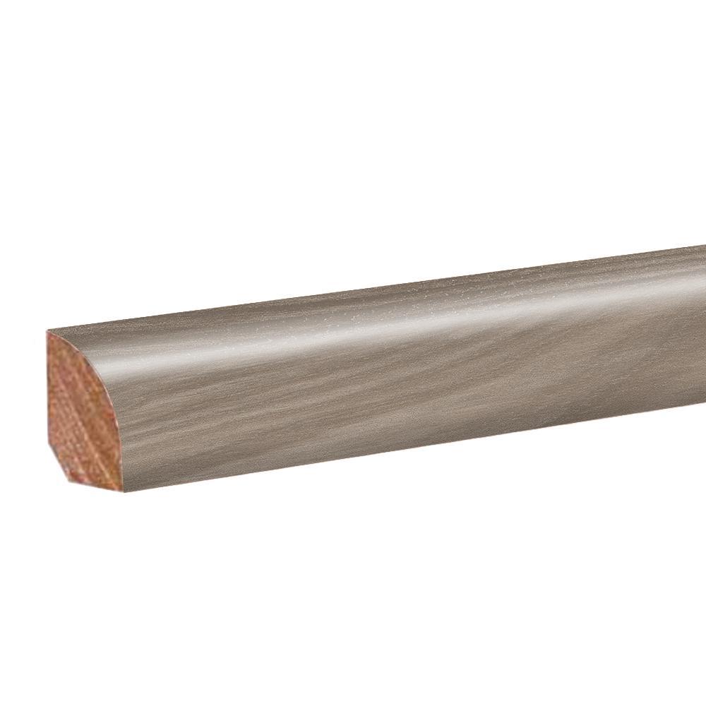 Ibis Oak 0.62 in. T x 0.79 in. W x 94.5 in. L Vinyl Quarter Round Molding