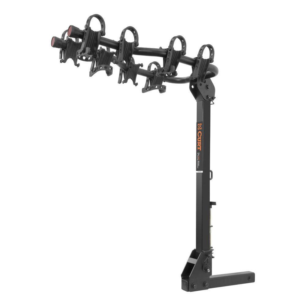 CURT Premium Hitch Mounted Bike Rack