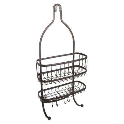 York Lyra Shower Caddy in Bronze