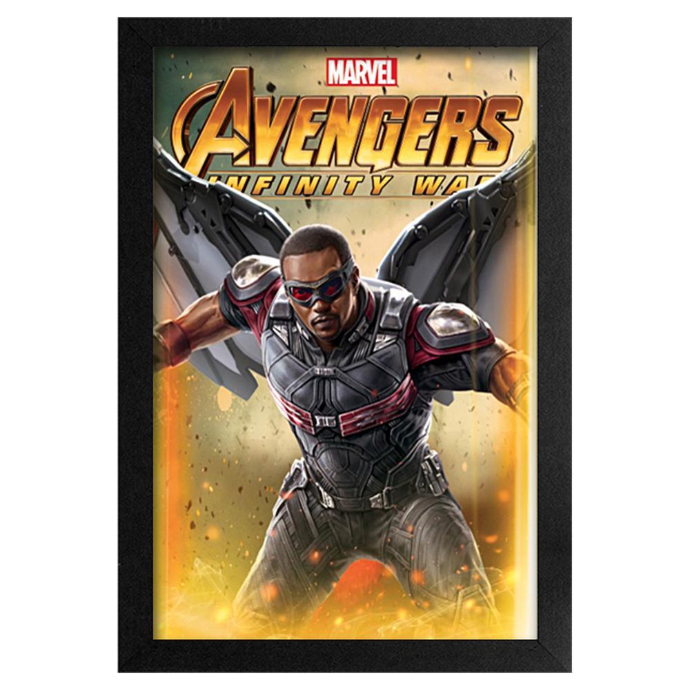 Avengers -Infinity War- Falcon 11x17 Framed Print