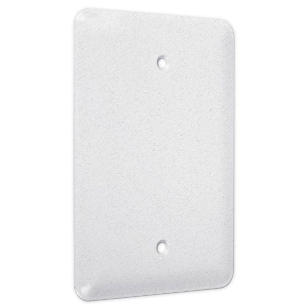 Decora White 1-Gang Decorator/Rocker Wall Plate (1-Pack)