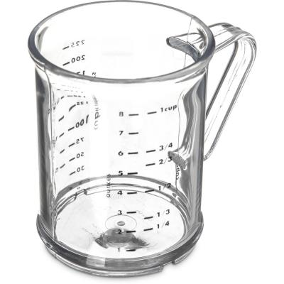 Polycarbonate Clear Measuring Cup