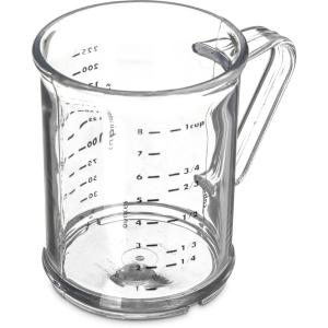 Carlisle Polycarbonate Clear Measuring Cup by Carlisle