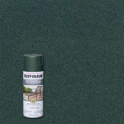 12 oz. Textured Forest Green Protective Spray Paint (6-Pack)