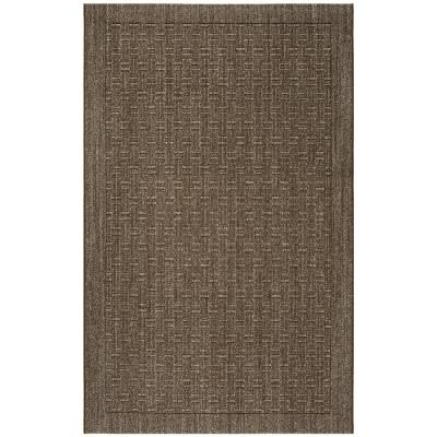 Palm Beach Silver 5 ft. x 8 ft. Area Rug