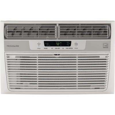 8,000 BTU 115-Volt Window-Mounted Mini-Compact Air Conditioner with Temperature-Sensing Remote Control
